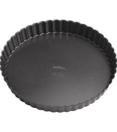 "Wilton Perfect Results 9"" Round Tart/Quiche Pan"
