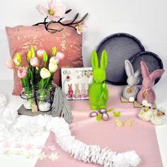 Osterdeko Artikel in Rosa bei Tischdeko-Shop.de Daisy, Pink, Easter Bunny, Easter Activities, Margarita Flower, Daisies