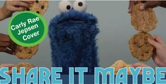 """Sesame Street's """"Share It Maybe"""" [VIRAL]  Sesame Street and Cookie Monster takes a shot at the """"Call Me Maybe"""" craze! This video is adorable!"""