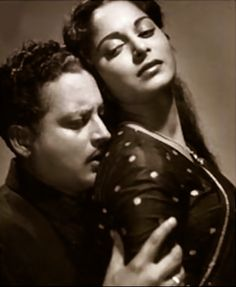 Guru Dutt and Waheeda Rehman