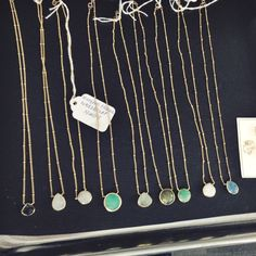 Gorgeous necklaces on display at Stitch Fix HQ. Love them all! Disclosure: If you'd like to try Stitch Fix for yourself, this link takes you to my referral page of their website.