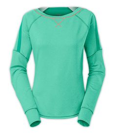 Cozy up after Savasana in this quick-drying French terry pullover. #ITrainFor #MountainAthletics