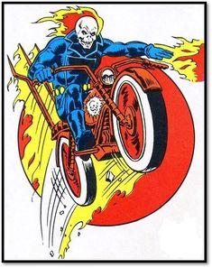 Marvel Avengers Comics, Marvel Avengers Assemble, Marvel Heroes, Ghost Rider Johnny Blaze, Comic Page, Hero Arts, Fantasy Artwork, Marvel Characters, Comic Books