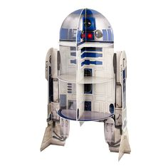 Star Wars R2D2 Cupcake Stand (Holds 12)