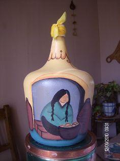 Cake, Desserts, Food, Upcycling, Bottles, Objects, Pintura, Tailgate Desserts, Deserts