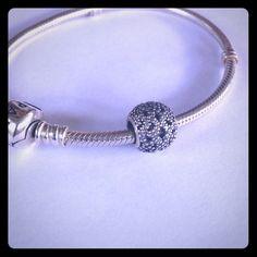 Silver Pandora Charm Silver Pandora Charm, bundle discounts available. Make offer! Bracelet NOT included Pandora Jewelry Bracelets