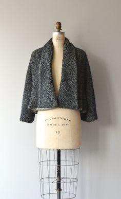 3e58e08f81a70 Gray Persian Lamb cropped jacket 1950s astrakan by DearGolden Fifties  Fashion