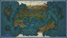 World Map - The Conflux by Levodoom on DeviantArt Fantasy City Map, Fantasy World Map, Dnd World Map, Imaginary Maps, Rpg Map, World Map Design, Map Projects, Fantasy Setting, Old Maps