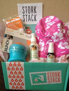 Mommy Testers: Stork Stack, a gift that keeps giving. You can do a one-time gift box, or subscribe in sets of 3 months, or every month for the mom-to-be. Free shipping and great discounts on the products. Too cool!