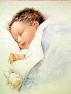 Bessie Pease Gutmann baby