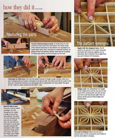 #1817 Japanese Lattice - Finishing and Decoration Tips and Techniques