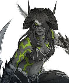 World of Warcraft Art Board ^^ // Blizzard // wow // // Digital // Illidari Blood Elf Fantasy Character Design, Character Design Inspiration, Character Concept, Character Art, Dota Warcraft, Warcraft Art, World Of Warcraft Characters, Fantasy Characters, Dh Wow