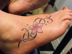 So cute I would get a tattoo like that on top of my side foot