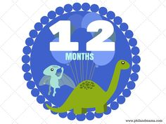 Three new sets of free printable baby monthly milestone signs to download at www.philandmama.com!