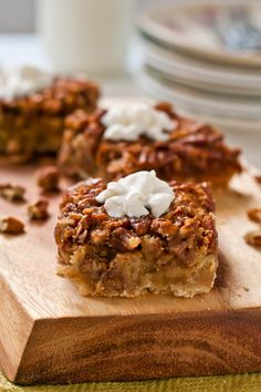 These Pecan Pie Bars are a great Thanksgiving dessert you can easily make gluten free!