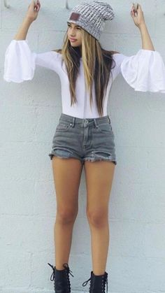 20 Flawless Summer Outfits Ideas For Young Girls Dress & Outfits New Teen Fashion, Latest Fashion For Girls, Preteen Girls Fashion, Young Girl Fashion, Latest Fashion Clothes, Teenager Fashion, Junior Fashion, Tween Girls, Fashion Fashion