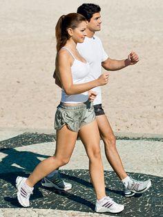 Caminhada 3x por semana = pernas e bumbum firmes e desenhados