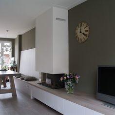 Vandaag weer een klant blij gemaakt :-)..#eikentafel #zitbank #tvkast #dressoir #interieur #living #sijmen  #design