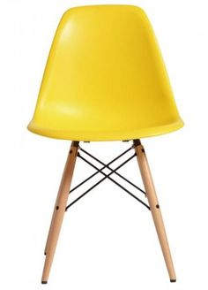 Eames Yellow Replica Designer Chair