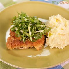 Smackdown Chicken Schnitzel by Michael Symon! #TheChew