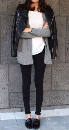 Layering for fall.