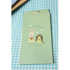 Kawaii Envelopes - Rabbit & Hedgehog