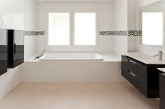 Altea Hills, Station Balnéaire, Alicante, Corner Bathtub, Alcove, Villa, Bathroom, Central Heating, Floor Heater