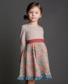 Matilda Jane tween isabella ballerina dress - would be cuter for Miriam if the top was pink or blue or anything but beige.