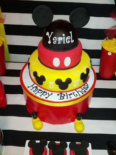 Mickey Mouse Birthday Party Ideas | Photo 1 of 31 | Catch My Party