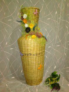 плетение из бумажной лозы-было изготовлено  на заказ