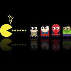 Pacman Superheroes