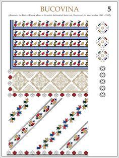 eleva - ie Bucovina (JPEG Image, 1200 × 1600 pixels) — Масштабоване Beading Patterns, Embroidery Patterns, Simple Cross Stitch, Hama Beads, Pixel Art, Symbols, Traditional, Fabric, Costume