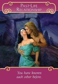 Oracle Card Past-Life Relationship | Doreen Virtue | official Angel Therapy Web site