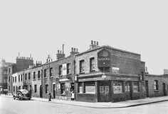 Vintage London, Old London, East London, London Pubs, London Street, English Beer, Silver Trumpet, Tower Hamlets, Old Pub