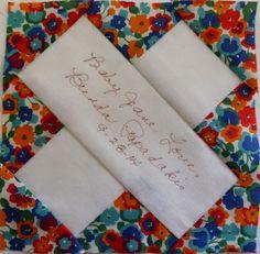 A-8 Florence Nightingale ~ Wheels on the Warrandyte Bus: Dear Jane Journal
