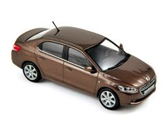 Peugeot 301 (2012) Diecast Model Car by Norev 473100 This Peugeot 301 (2012) Diecast Model Car is Brown and features working wheels. It is made by Norev and is 1:43 scale (approx. 10cm / 3.9in long).