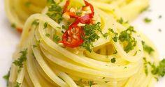 Spaghetti aglio e olio di mare