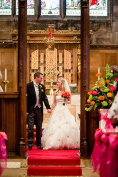 Gorgeous church wedding in Cheshire, UK