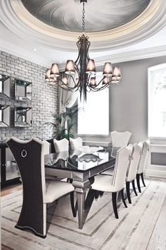Dorya Jade Chair Ilyada Dining Table
