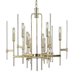Bari Chandelier by Hudson Valley Lighting at Lumens.com