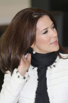 Crown Princess Mary of Denmark during the 2nd day of the visit to Qatar -03.03.16