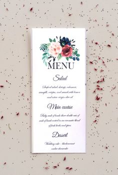 73 best wedding menus order of service images on pinterest in 2018