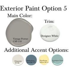 Exterior Paint Option 5