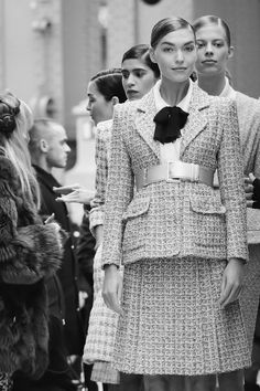 Behind the scene, Chanel Spring/Summer 2017 Haute Couture Collection.