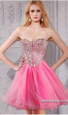 http://www.ikmdresses.com/Sparkly-Strapless-Sweetheart-Rhinestone-Bodice-beaded-short-prom-dress-p59505