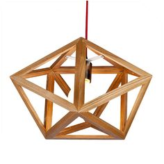 Pentangle pendant lamp, size: ∅500*250Hmm  #wooddesign #woodlampshade #woodenlamp #woodlight #homedecor #pendant #lightingdesign #francisting #design #interior #project #woodworking #pendantlights #lightingfixture #homelighting #kichenlighting