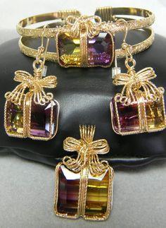 Ho! Ho! Ho! Ametrine   JewelryLessons.com