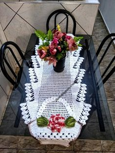 Best 12 Table centerpiece crochet doily french decor – housewarming crochet rose gift for wife – rose table decoration crochet anniversary runner Crochet Doily Rug, Crochet Doily Patterns, Crochet Tablecloth, Cotton Crochet, Crochet Home, Thread Crochet, Crochet Gifts, Diy Crochet, Crochet Flowers