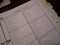 Living My Life On Purpose: Household Organizational Binder