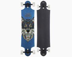 landyachtz 9two5 deepspace downhill freeride series drop mount longboard skateboard